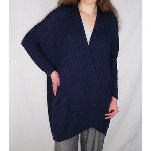 Ralph Lauren S OVERSIZED Cocoon Cardigan Sweater